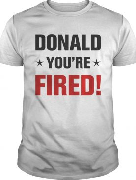 Donald Trump Youre Fired Stars Election 2020 shirt