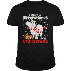 I Want A Hippopotamus For Christmas shirt