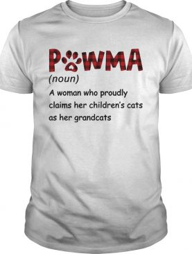 Pawma A Woman Who Proudly Claims Her Childrens Cats As Her Grandcats shirt