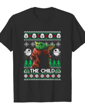 Premium the child baby yoda ugly christmas shirt