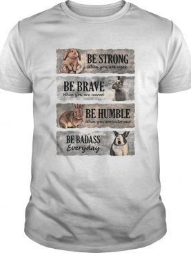 Rabbit Be Strong When You Are Weak Be Brave When You Are Scared Be Humble When You Are Victorious B