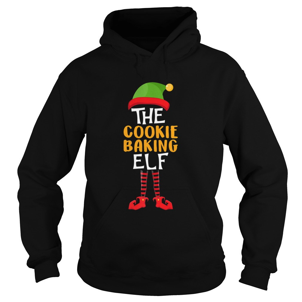 The Cookie Baking Elf Family Christmas Costume  Hoodie
