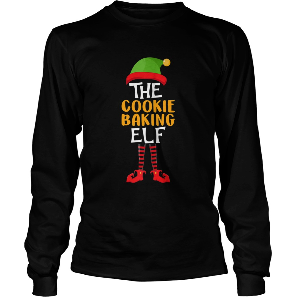 The Cookie Baking Elf Family Christmas Costume  Long Sleeve