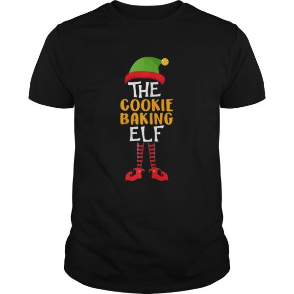 The Cookie Baking Elf Family Christmas Costume shirt