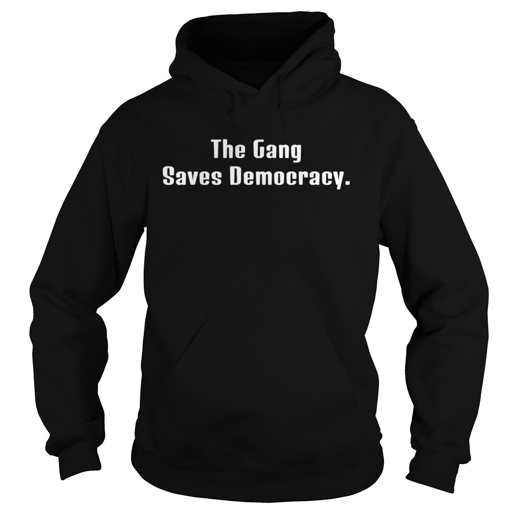 The Gang Saves Democracy  Hoodie