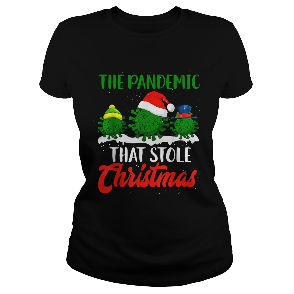 The Pandemic That Stole Christmas 2020 Ugly Tacky  Classic Ladies