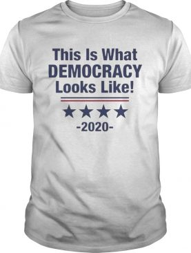 This Is What Democracy Looks Like shirt