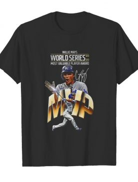 Willie Mays World Series 2020 Most Valuable Player Award shirt