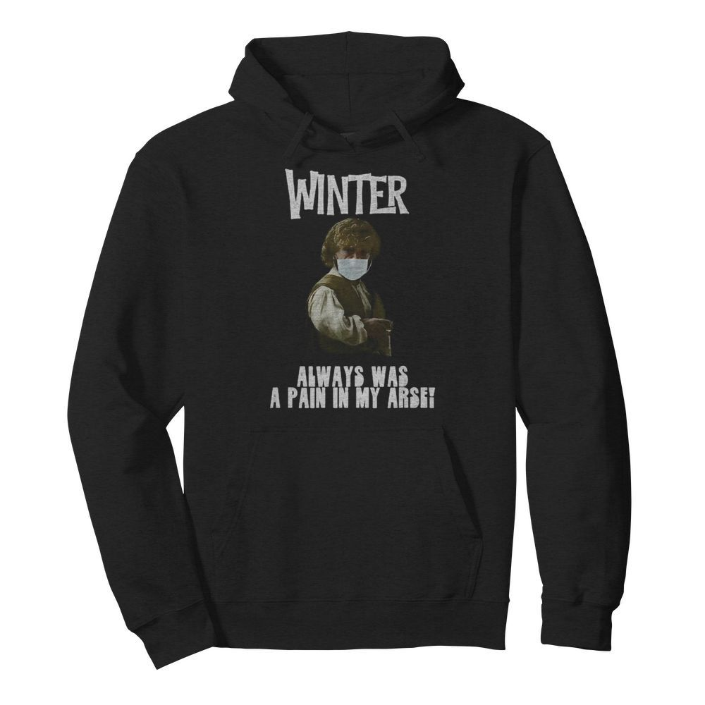 Winter Pain in the Arse  Unisex Hoodie