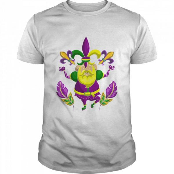 Carnival Clown Costume Party New Orleans Mardi Gras shirt