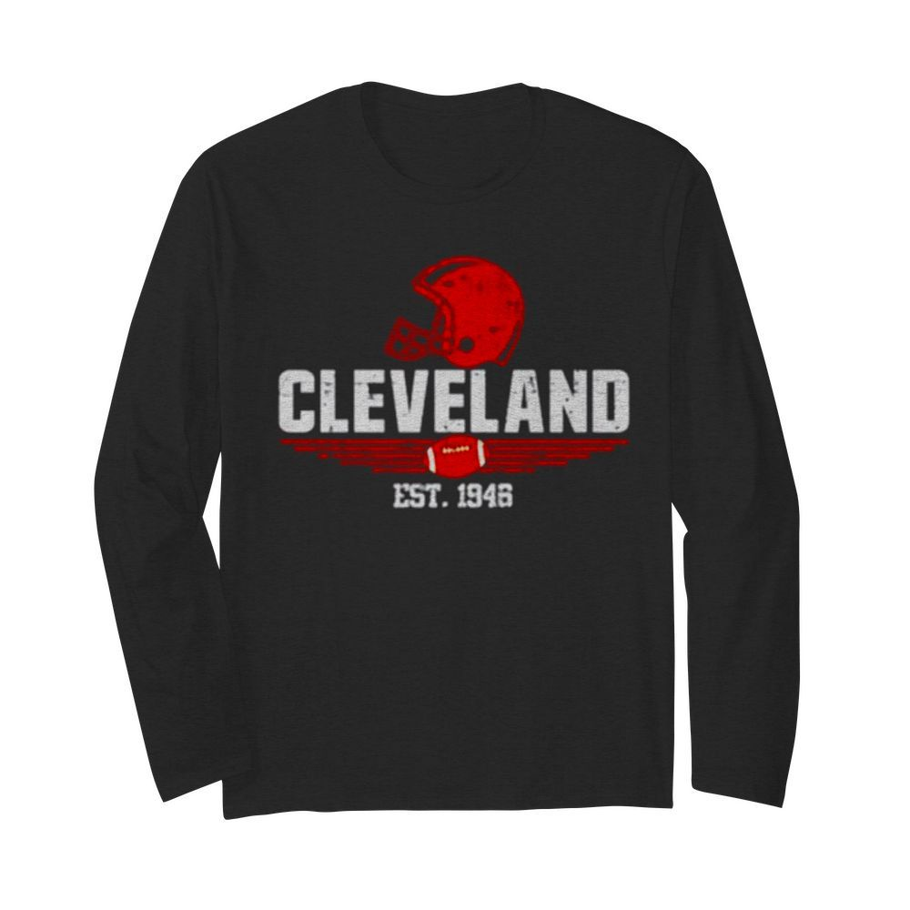 Cleveland est 1946  Long Sleeved T-shirt