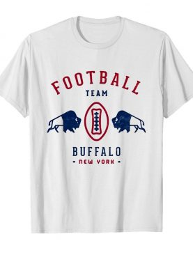 Cool modern Buffalo Bills Retro Team Crest shirt