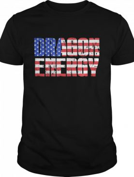 Dragon Energy Love Trump Meme American Flag shirt
