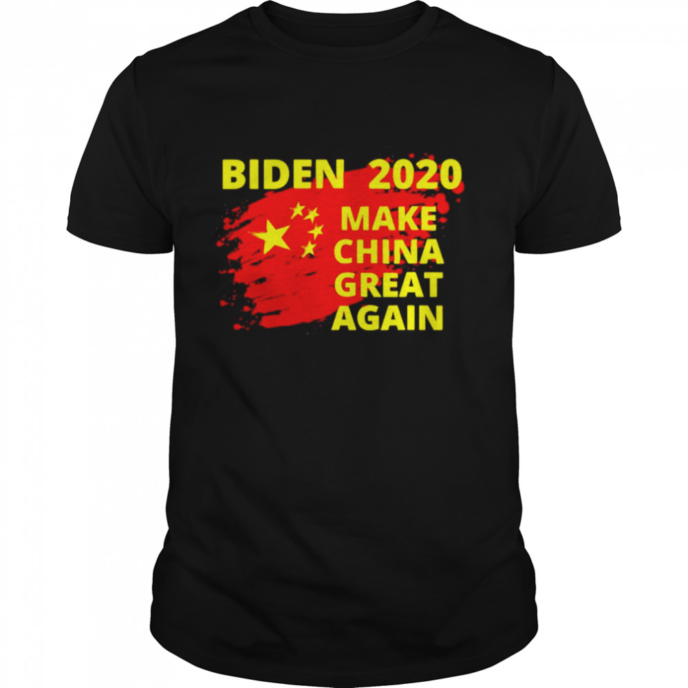 Joe Biden 2020 make China great again  Classic Men's T-shirt