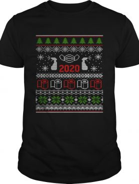 Ugly Christmas Sweater 2020 Toilet Paper Pandemic Funny Xmas Gifts shirt