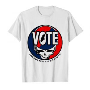 Vote Skull This Darkness Has Got To Give shirt
