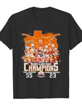 2020 Valero Alamo Bowl Champions Football shirt