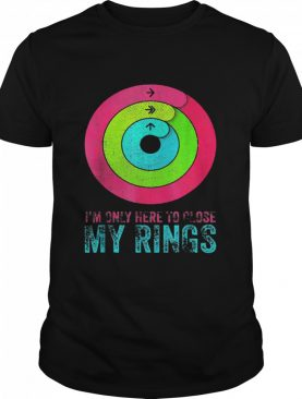 Im only here to close my rings distressed shirt