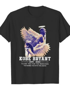 Kobe Bryant The Mamba The Myth The Legend thank you for the memories signature shirt