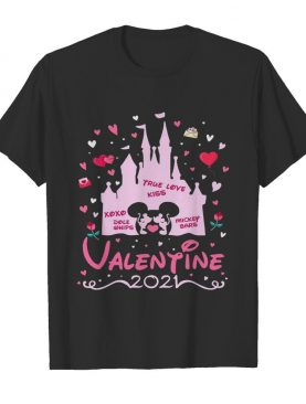 Mickey Mouse And Minnie Mouse Valentine Disney 2021 shirt