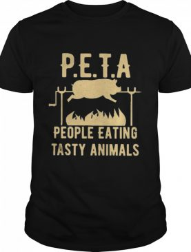Peta people eating tasty animals shirt